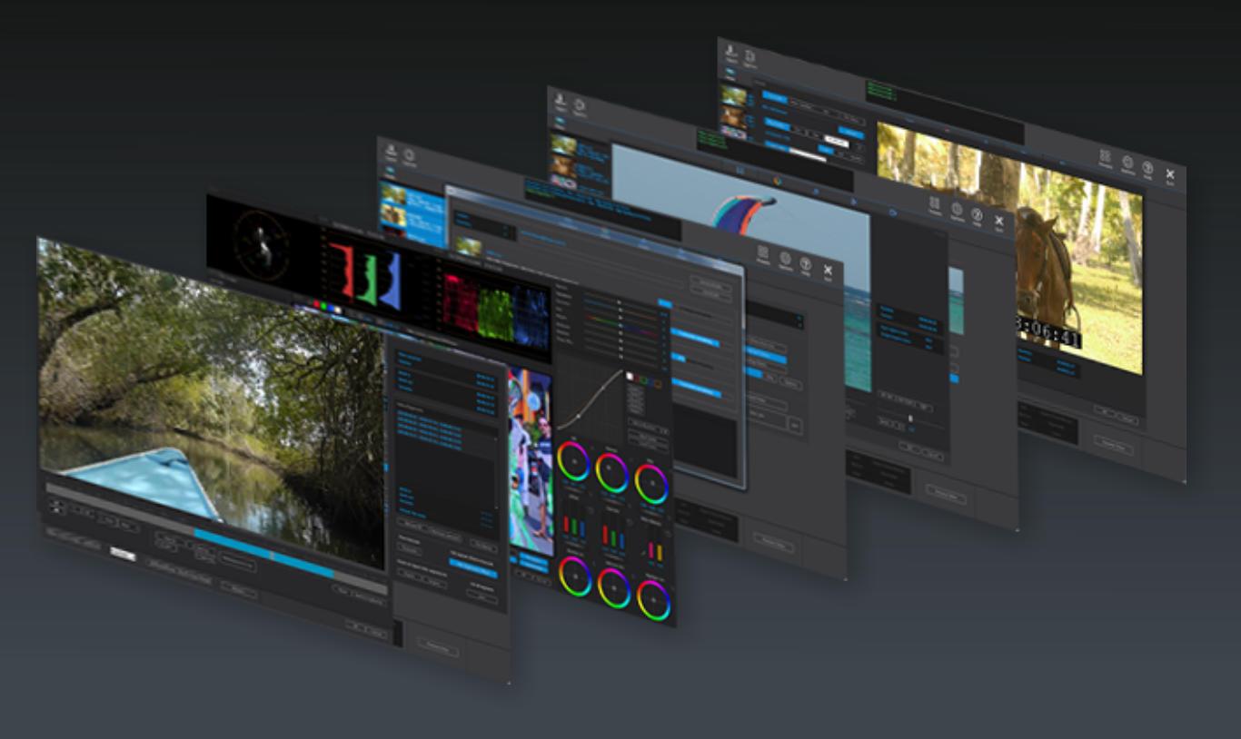 Acrovid - Intertake - Format conversions, Video Standard